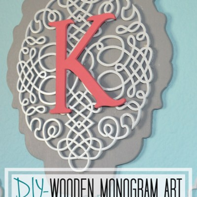 DIY- Monogram Art