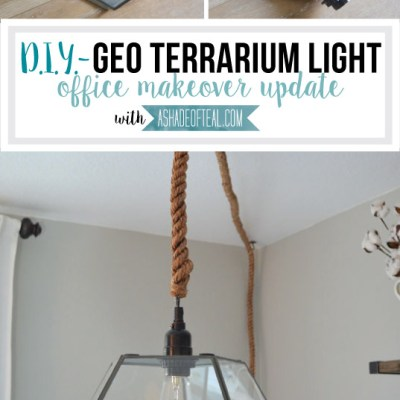 DIY- Geo Terrarium Light