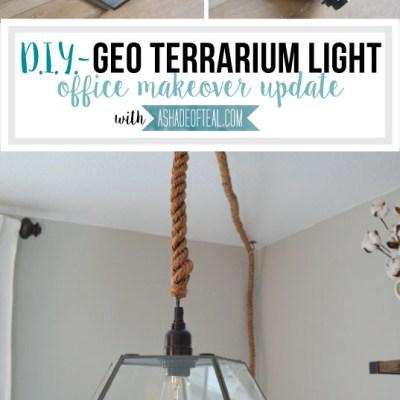 DIY- Geo Terrarium Light