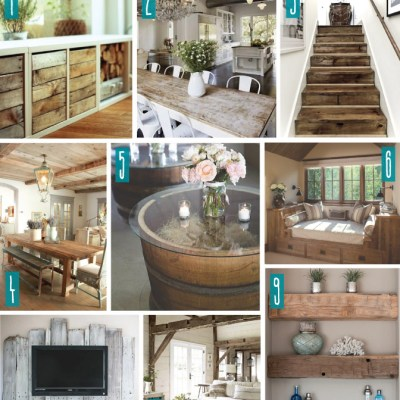 Color Series; Decorating with Rustic Decor