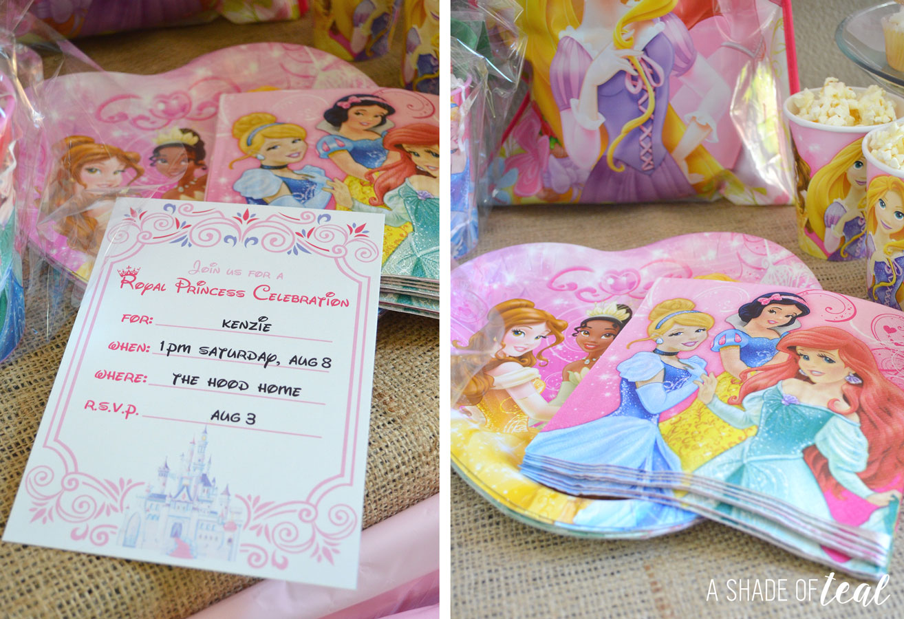A Disney Princess Party On A Budget Plus Free Printables