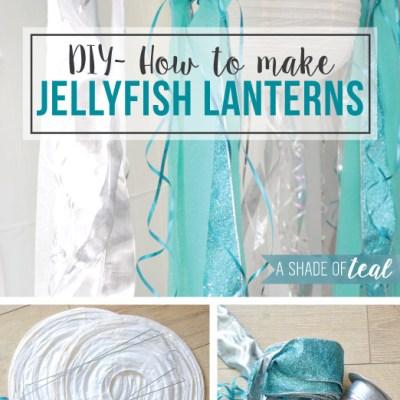 DIY- How to make Jelly Fish Lanterns