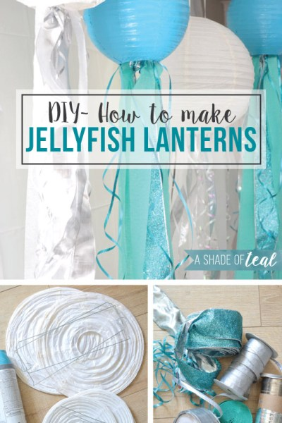 DIY- How to make Jelly Fish Lanterns