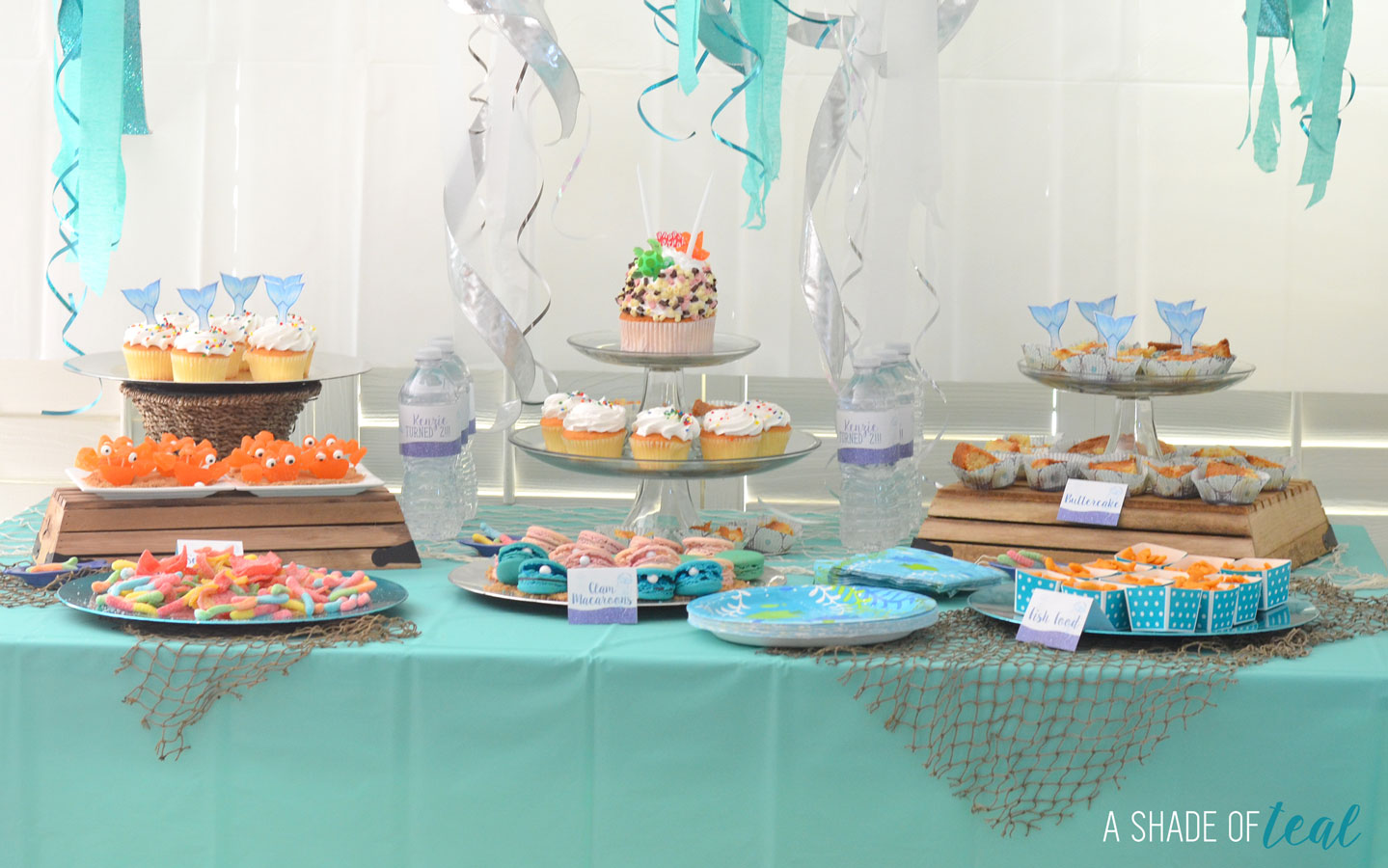 Under The Sea 2nd Birthday Party