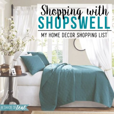 Shopping with Shopswell!