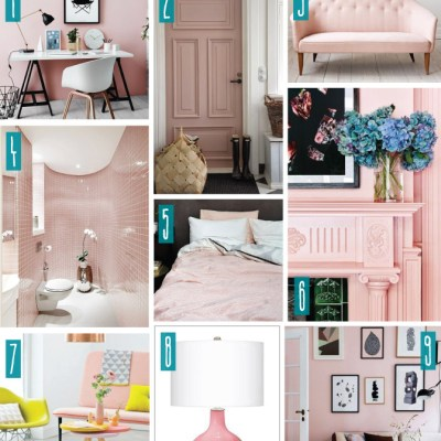 Color Series; Decorating with Rose Quartz