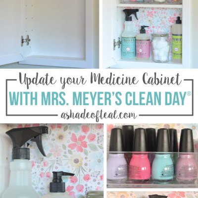 Update your Medicine Cabinet with Mrs. Meyer's Clean Day®