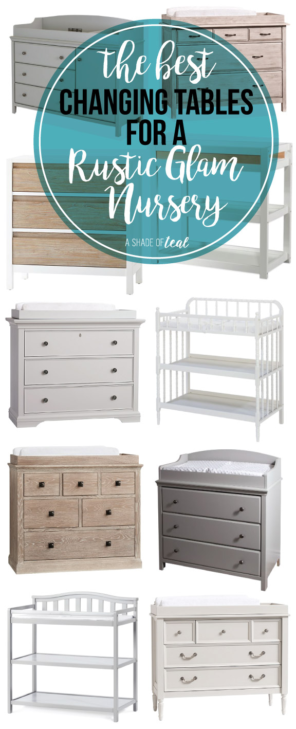 The Best Changing Tables For A Rustic Glam Nursery. If ...