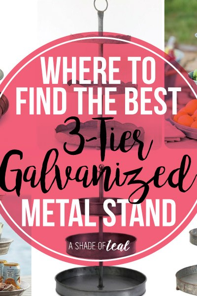 Where to find the Best 3-Tier Galvanized Stand's