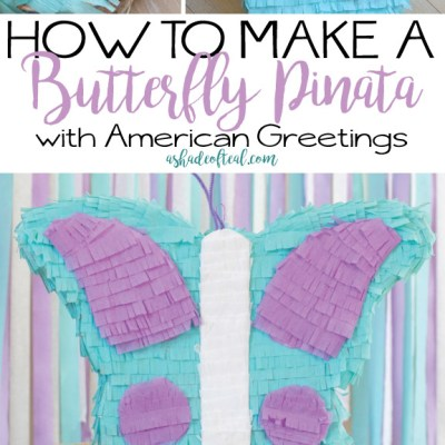 How to make a Butterfly Piñata