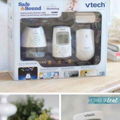 How to use the VTech Digital Audio Baby Monitor