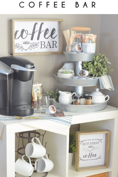 Shop the Look! Coffee Bar