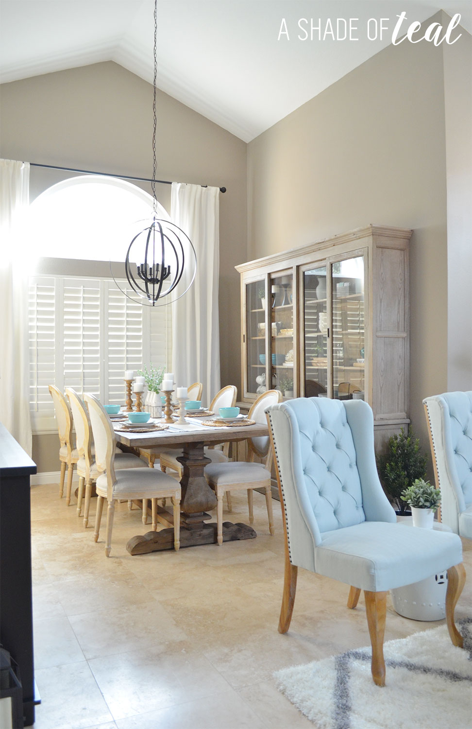 Modern Rustic Dining Amp Living Room Orc Dining Room Reveal