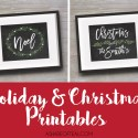 Holiday Printables at A Shade Of Teal Design, ETSY
