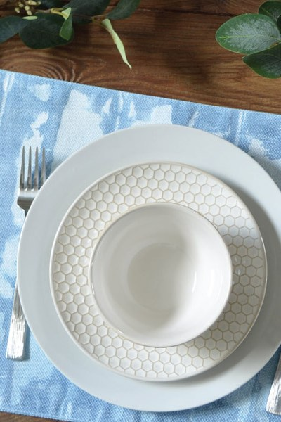 For The Love of Shibori! How to Shibori Dye a Placemat
