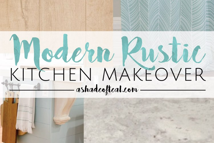 Modern Rustic Kitchen Makeover // ORC Week-1: The Plan