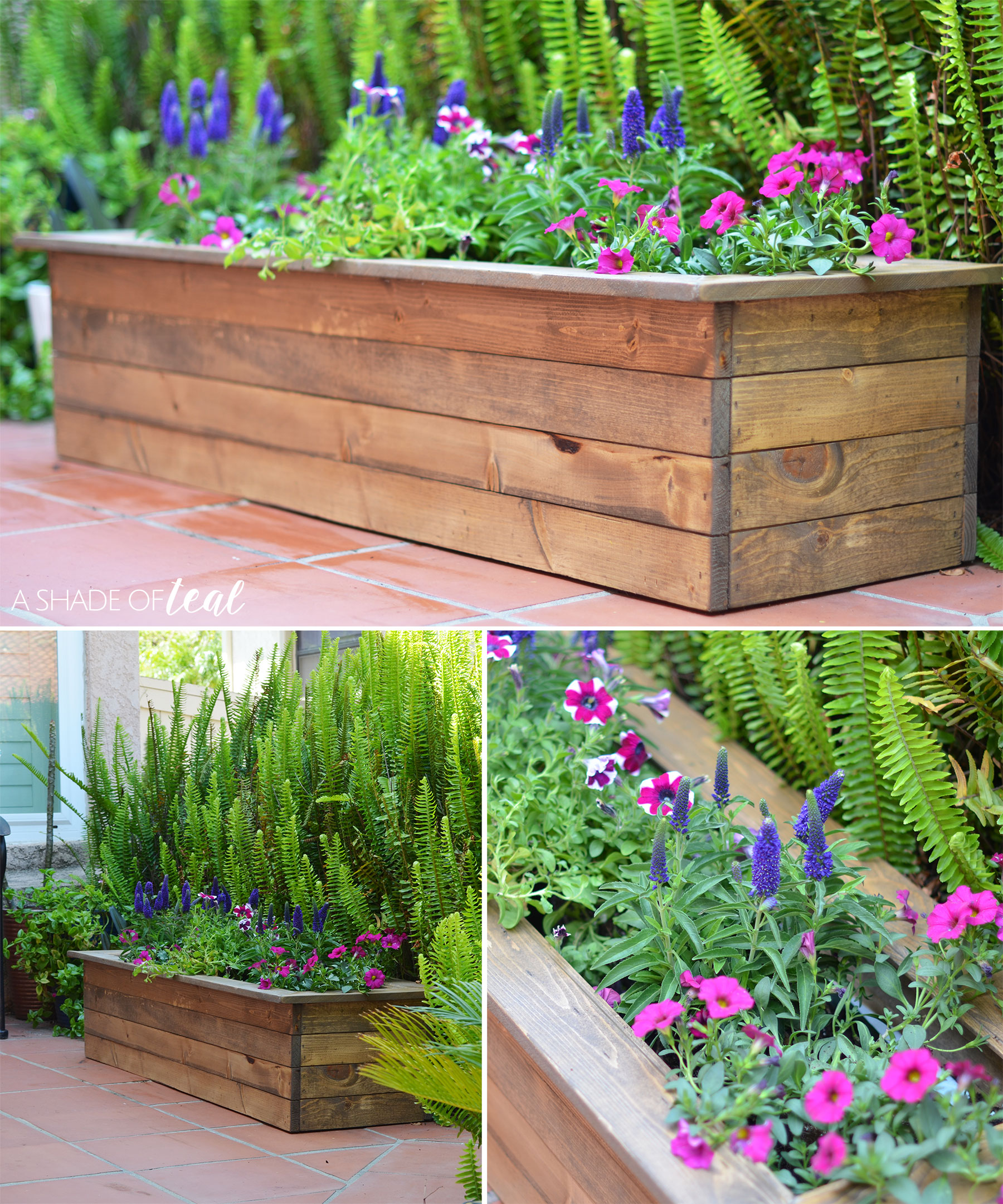 porch update how to make a flower box with monrovia flowers. Black Bedroom Furniture Sets. Home Design Ideas