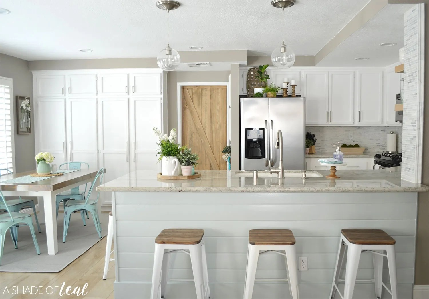 paint colors used in my modern rustic home