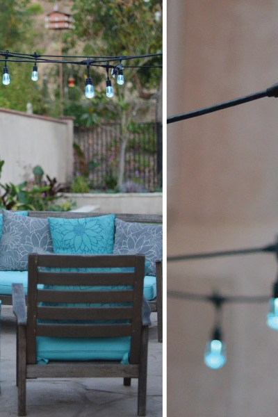 How to Easily add Patio Lighting Anywhere!