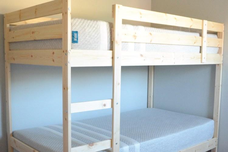 Modern Rustic Glam Shared Girls Bedroom // ORC Week-4