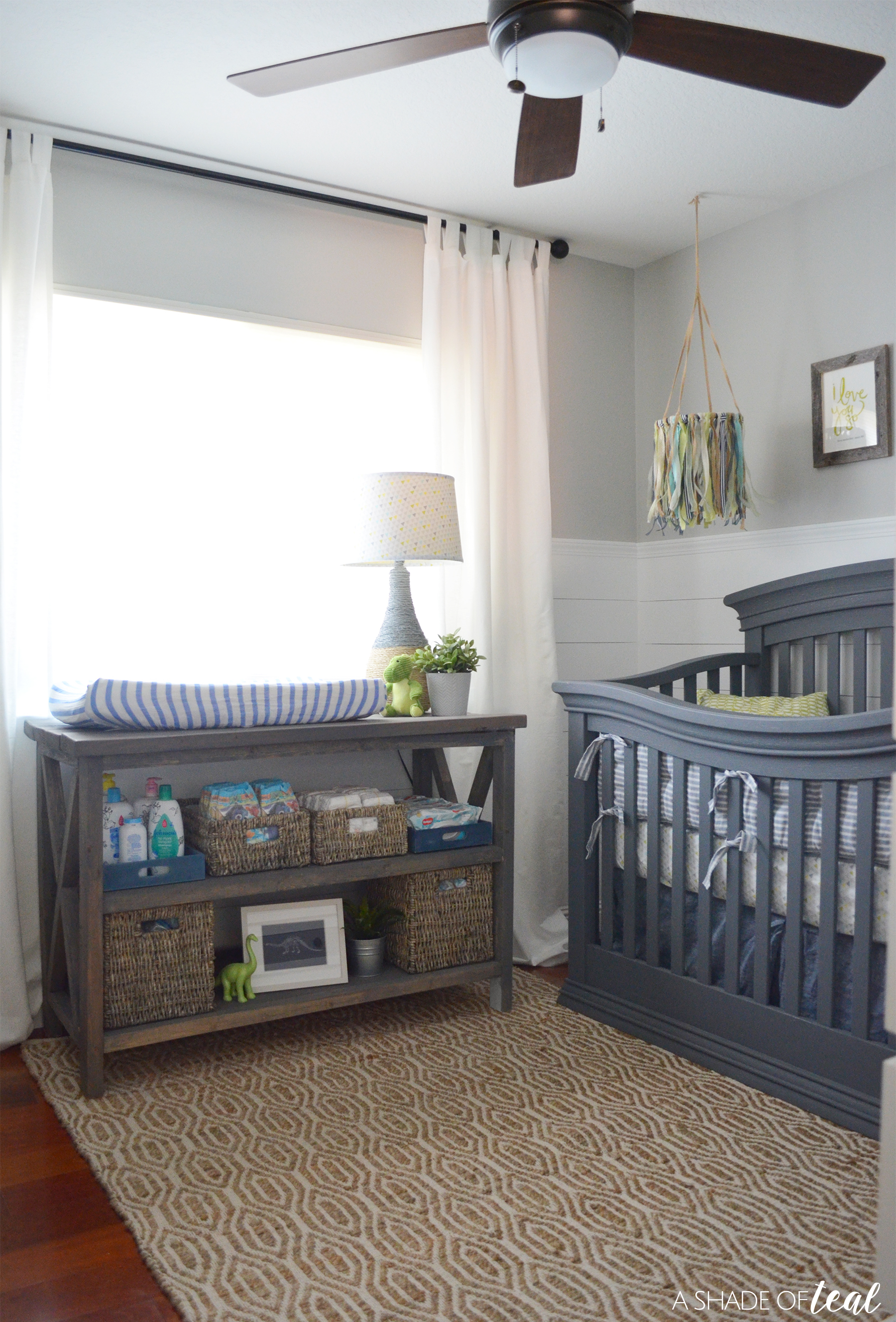 Rustic Industrial Baby Boy Nursery Orc The Reveal