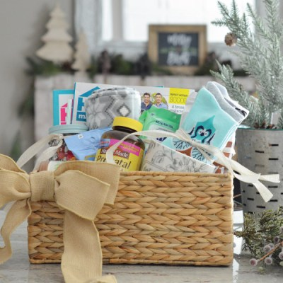 A Gift Basket for an Expecting Mom!