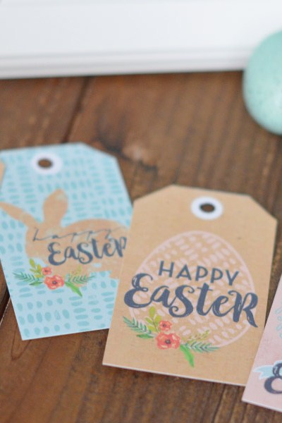 Happy Easter, with Easter Printables & Gift-Tags!