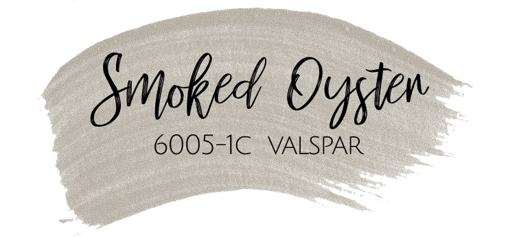 My Living And Dining Room Are Painted In Favorite Greige Color SMOKED OYSTER From Valspar Its Also The Thats Used On Most Of Main Walls