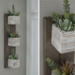Quick Easy Diy Make A Hanging Succulent Planter Using Clear Gorilla Glue
