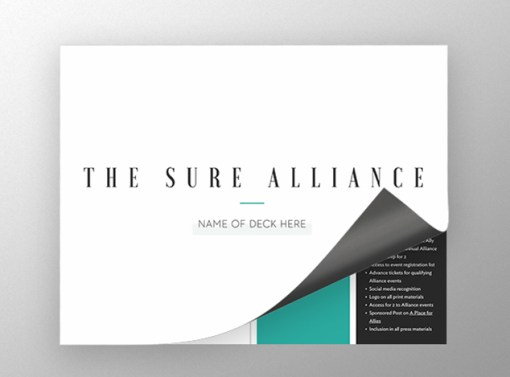 The Sure Alliance Presentation Design