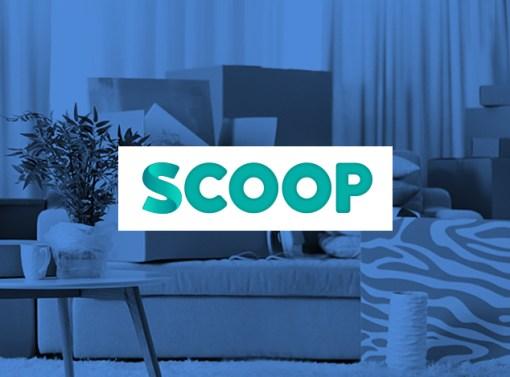 Scoop Brand Identity