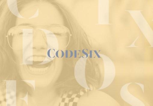 CodeSix Public Relations Brand Identity