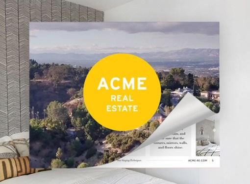 ACME Real Estate Presentation Design