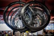 Enve carbon wheels.