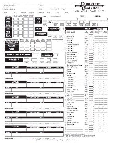 dd-character-sheet