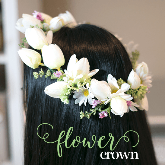 Flower Crown Tutorial | ashandcrafts.com