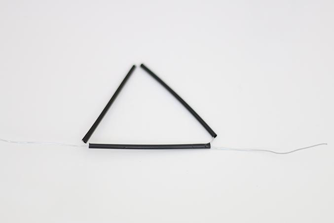 DIY Himmeli Geometric Sculpture   ashandcrafts.com
