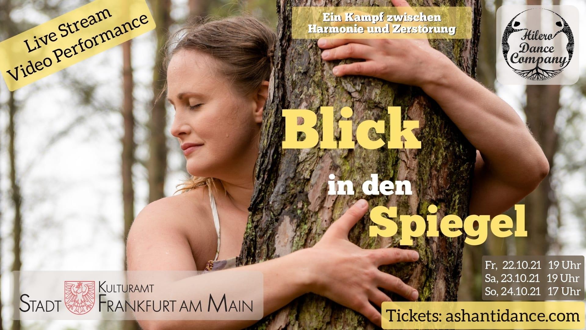 Flyer für Blick in den Spiegel Online Performance