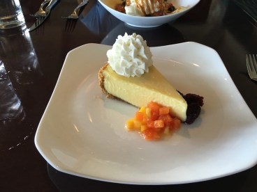 Key Lime Pie at the Breaker's hotel - I couldn't finish half of it - it was so rich I felt guilty.