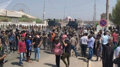 Photo of حصيلة قمع التظاهرات جنوبي العراق…بالفيديو والصو