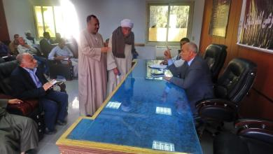 رئيس مدينة القرنة خلال اللقاء الجماهيري الأسبوعي غرب الاقصر
