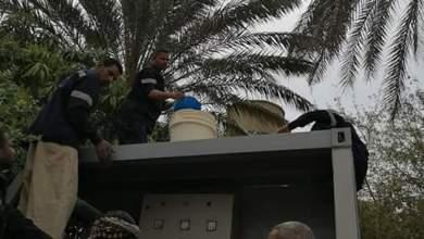 Photo of أعمال تطهير مرشح مياه النقالى بجزيرة أرمنت بإدارة القرنه بالاقصر