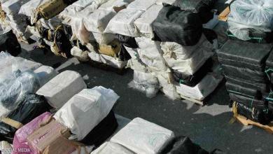 """ضبط 1.5 طن من مخدر الميثامفيتامين بملياري يورو يكتشفها """" كلب """""""