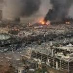 التحقيقات الأولية سبب الانفجار المدمر الذي هزمرفأ العاصمة اللبنانية!!