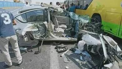 Photo of بالمحور..تصادم سيارة ملاكى باتوبيس يسفر عن وفاة شخص واصابة 2 اخرصادم سيارة ملاكى باتوبيس يسفر عن وفاة شخص واصابة 2 اخرون بالمحورون