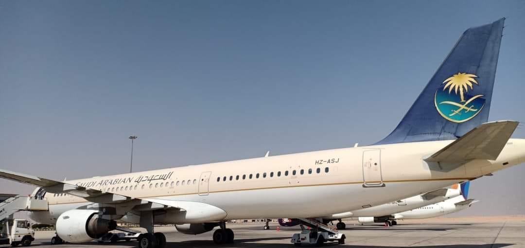 الخطوط السعودية تدشن أولى رحلاتها الاستثنائية من صعيد مصر الى المملكة العربية السعودية