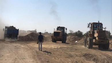 Photo of فحص وتسليم طريق السوفيتيل ومحطة المعالجة للشركة الوطنية بشمال الأقصر