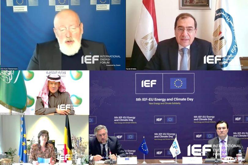 الملا:تحقيق مستقبل آمن ومستدام للطاقة النظيفة فى مصر صار واقعاً