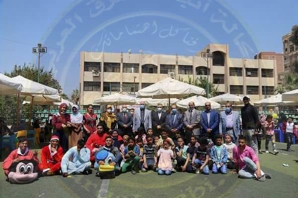 جامعة الفيوم: احتفالية يوم اليتيم