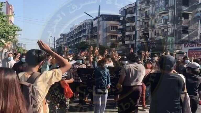 ميانمار:8 قتلى في تظاهرات ضد الحكم العسكري